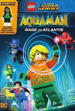 LEGO Супергерои DC: Аквамен. Ярость Атлантиды / Lego DC Comics Super Heroes: Aquaman - Rage of Atlantis (2018)